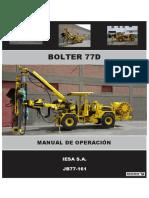 Manual de Operacion Bolter 77d - p04en13
