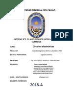 informe n°3- circuitos electronicos