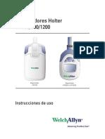 Registradores Holter HR100 300 1200