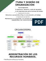 Estructura y Diseño de La Organizacion-Administración de Los Recursos Humanos