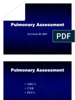 Pulmonary Assessment