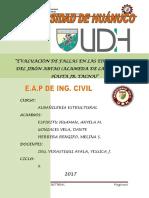Informe Nº 01 Albañileria