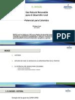 BIOGAS Potencial Para Colombia - Biotec