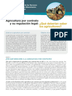 Agricultura Por Contrato Corto