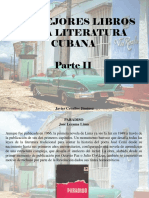 Javier Ceballos Jiménez - Los Mejores Libros de La Literatura Cubana, Parte II