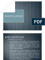 Enviando Presentacion Marco Logico