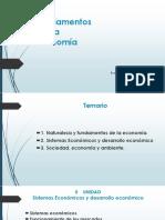 Fundamentos Economia II Unidad 24.05.18 Alumnos