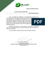 Carta Apoyo Berni