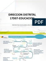 Proyectos Escolares  2017 2018.pptx