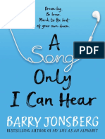A Song Only I Can Hear by Barry Jonsberg Excerpt