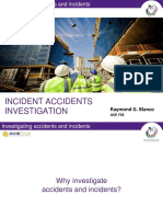 Incident Accidents Inv for Bosh Training
