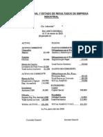 352637680 Balance General y Estado de Resultados de Empresa INDUSTRIAL