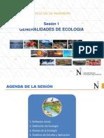 1 Introducción a La Ecología