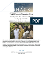 YANA Movie Night - The Shack.docx