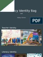 artifact 5 literacy identity bag palmer