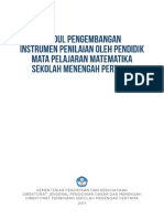 5. Modul Pengembangan Instrumen Penilaian Oleh Pendidik Mapel Mtk
