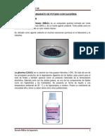 Permanganato de Potasio Con Glicerina