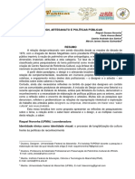 Design Artesanato e Politicas Publicas