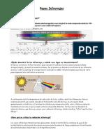 Rayos Infrarrojos y Ultravioletas
