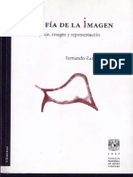 Fernando Zamora Filosofia de La Imagen - Imagen Cap Imagen