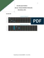 Guia de Acordes Completos Para Guitarra_samuel Saldaña v. 2014
