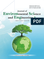 Journal of Environmental Science and Engineering,Vol.7,No.1A,2018
