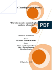 MODELOS DE CONTROL DE AUDITORIA INFORMATICA