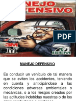 Manejo Defensivo Copy