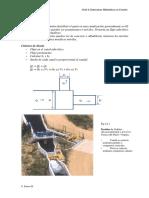 Estructuras de Regulacion y Medicion