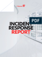 f Secure Incident Response Report