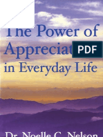13882619 the Power of Appreciation in Everyday Life