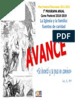 Ppd - Programa Anual 2018-2019 - Avance