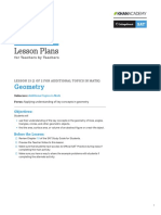 PDF Official Sat Practice Lesson Plan Math Geometry