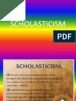Scholasticism Report