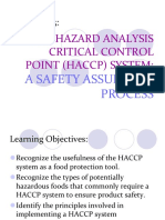 Chapter 3 HACCP (1)