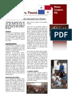 INFORME MISIONERO DE PANAMA - A  ABRIL 08