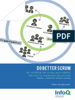 InfoQ Do Better Scrum Minibook