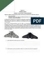 GUIA 1 U 1 Biodiversidad y Evolución  I°M - copia