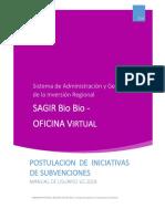 Manual Postulacion Proyectos Subvenciones v02.2018