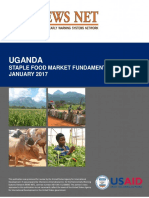 FEWS NET Uganda Staple Food Market Fundamentals January 2017