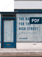 Phil Hubbard (Auth.)-The Battle for the High Street_ Retail Gentrification, Class and Disgust-Palgrave Macmillan UK (2017)