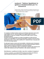 Francesco Pavolucci E-commerce in Italia Occorre Un Patto Con La Logistica
