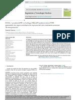 Prueba LSTF y El Código RELAP5 Análisis Sobre PWR Generador de Vapor Accidente de Ruptura Del Tubo Mediante Acciones de Recuperación