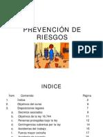 CURSO PREVENCION DE RIESGOS, PARTE 1