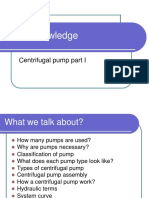 Pump Knowledge_Centrifugal Pump Part 1