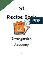 S1 Recipe Book 2018