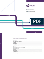 20102 - RICS Associate Assessment - Candidate Guide-Aug 2017-WEB