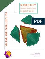 Geometiles Volumes Workbook