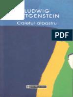 Ludwig Wittgenstein - Caietul albastru.pdf