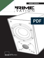 Prime Elevation Speaker Manual 06272016
